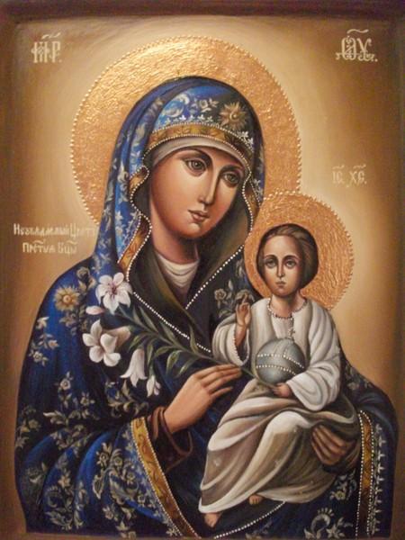 Икона божьей матери неувядаемый цвет значение