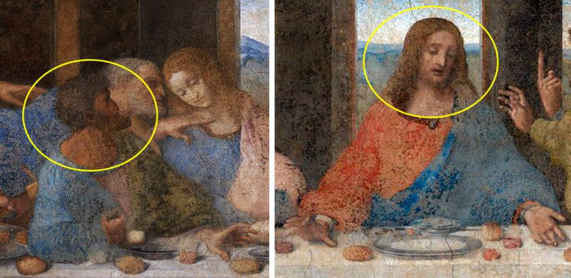Прообраз Іуди і Ісуса Леонардо малював з одного натурника f56f8962ac772