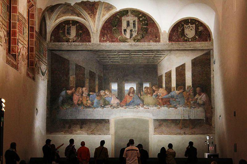 Секрети картини Тайна вечеря Леонардо да Вінчі c4b34ee7927ea