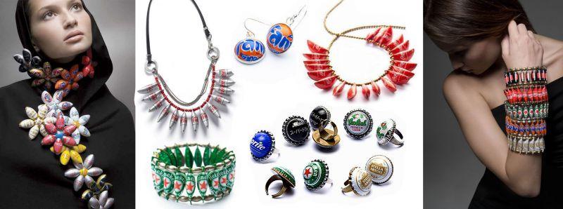 6d698dbddf92 Из них мастер создаёт такие необычные украшения как ожерелья, кольца и  браслеты. Серия аксессуаров носит название «Precious Metal».